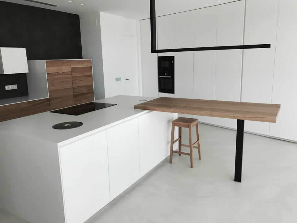 Microcemento pavimento continuo epoxi suelos 3d - Microcemento para cocinas ...