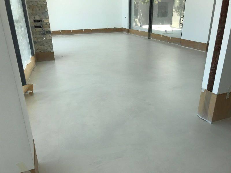 Microcemento pavimento continuo epoxi suelos 3d for Suelos 3d autonivelante